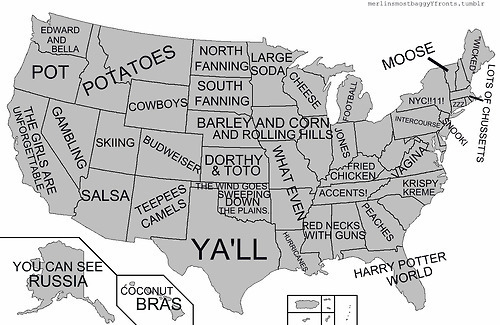 Maps Of USA Championship Subdivision Football FCS Football - Us map funny
