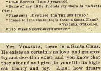 Virgina Santa letter
