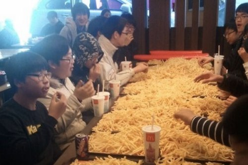 korea-french-fry-party