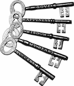heart keys