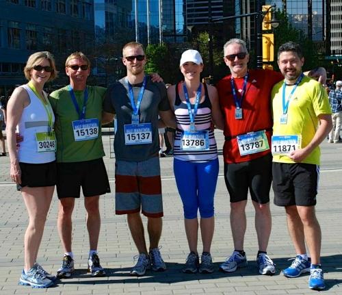 Vancouver Half Marathon May 2013