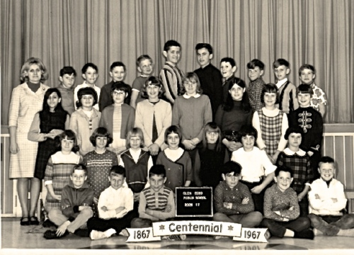 Grade 5 Glen Echo School 1967
