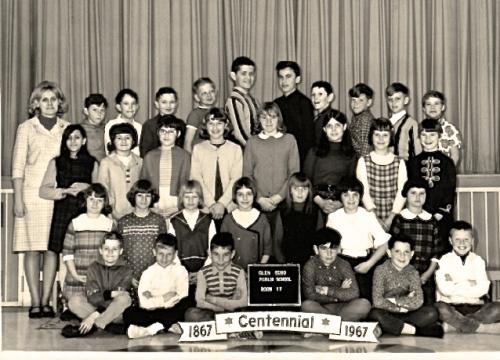 Grade 5 Glen Echo School 1967