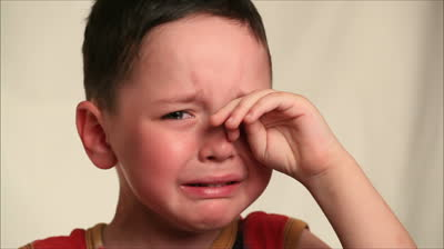 boy crying