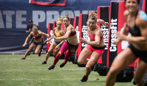 Women Crossfitters