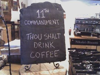 Coffee Commandment