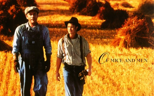 Lennie and George...Of Mice and Men... so bittersweet.