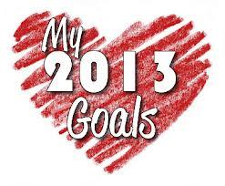 My 2013 goals