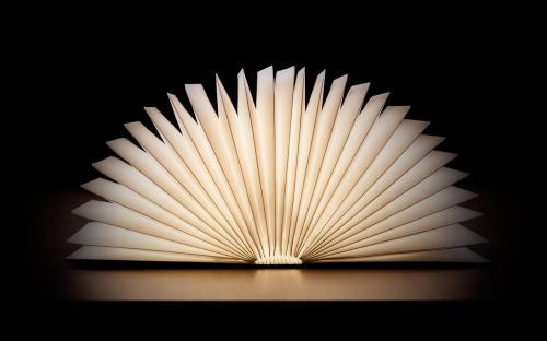 Book unfolds