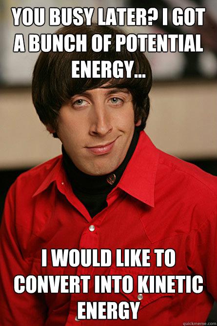 potentialkinetic energy