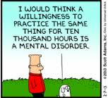 Dilbert 10000 hr rule