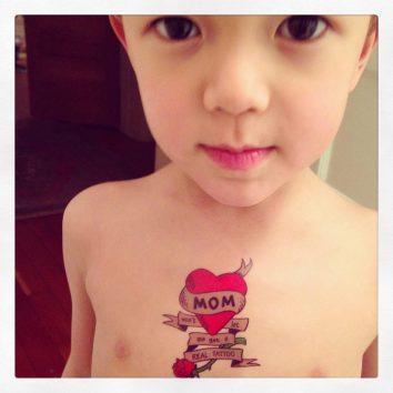 kid tattoo