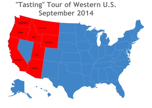 Map of the United States-4