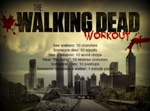 Walking Dead Workout