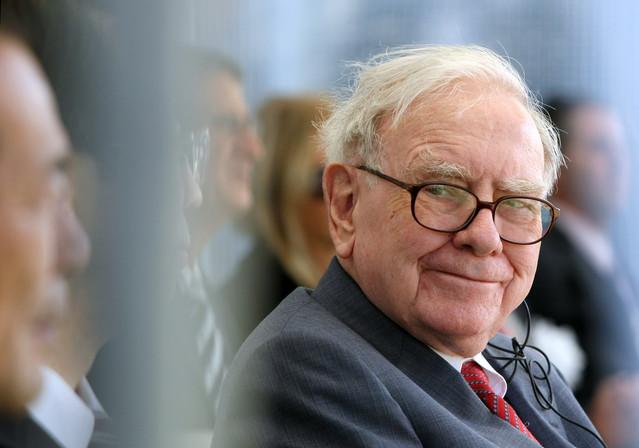 "My investing hero...Warren Buffett... hey, wasn't he in the movie ""UP""?"