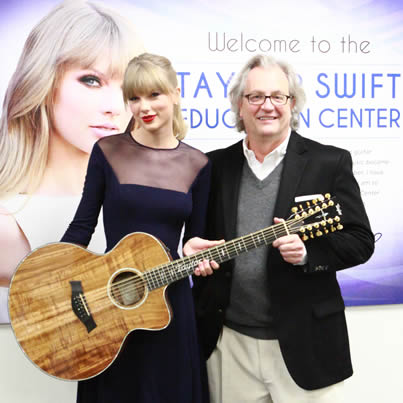 WAIT... I said a Taylor 12-String Guitar... not a Taylor Swift guitar!