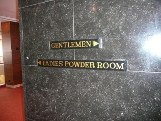 euphemism lady's bathroom