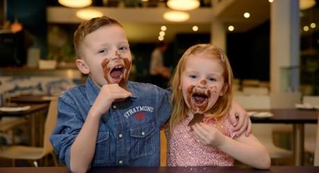 chocolate laugh