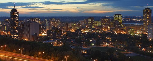 Hamilton At Night