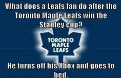 Maple Leafs X Box