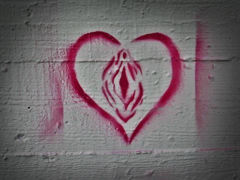 vagina heart