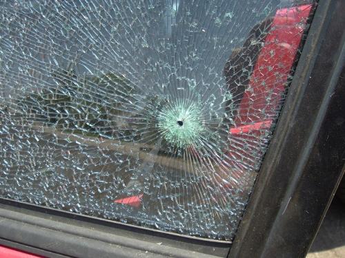 bullet thru window