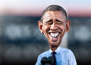 obama-laughing-caricature