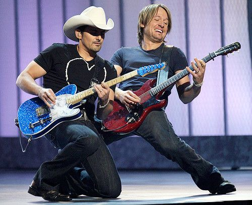 keith urban brad pasisley guitar