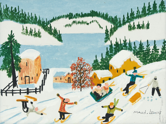 Snow S Cove Painting