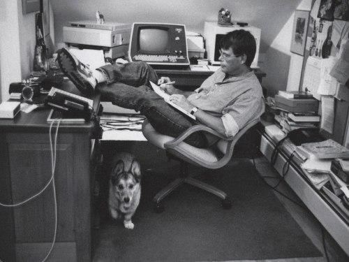 Stephen King writing