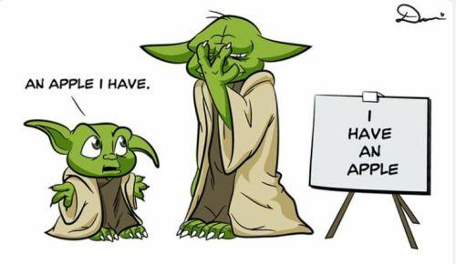 Yoda apple