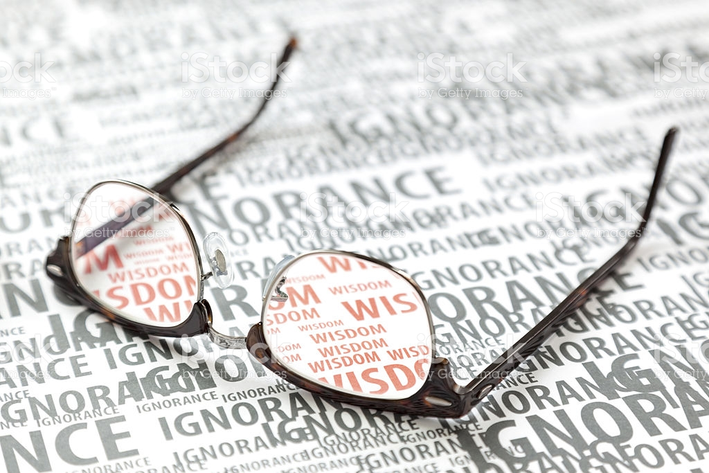 eyeglass of ignorance