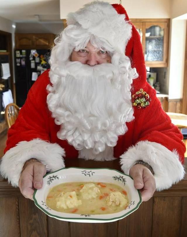 soup kitchen santa