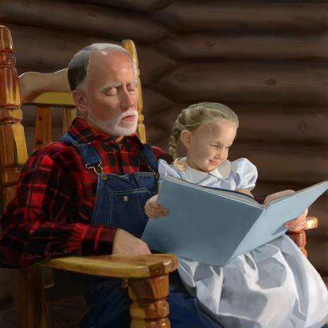 grandfather painting
