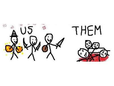 us vs them