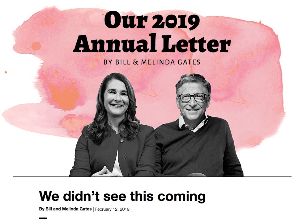 Gates Letter 2018