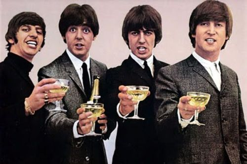 drinking beatles