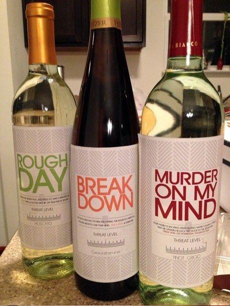funny wine
