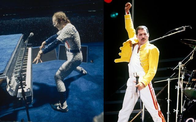 Elton and Freddie