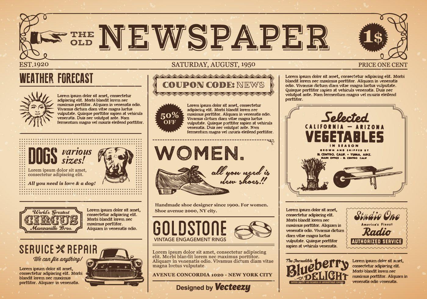 Old news 1950