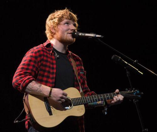 sheeran sings